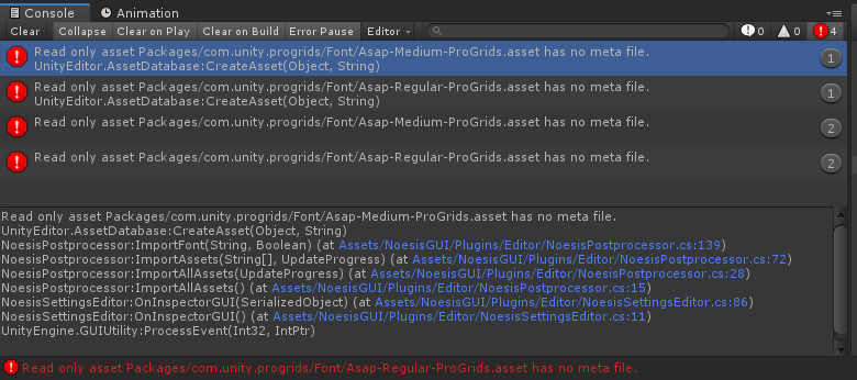 NoesisGUI Issue Tracker