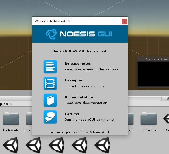 First steps with NoesisGUI and Unity - Documentation | NoesisGUI